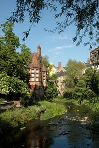 Water of Leith – you can join the path in many places and either get a bus back home or simply retrace your steps back. I even spotted an otter once swimming along in the river. Dean Village is always a highlight for me – a tiny medieval village tucked into the heart of the New Town