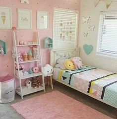 51 Cute Little Girl Bedroom Design Ideas You Have To See - Girls bedroom ideas little - Teenage Girl Bedrooms, Bedroom Girls, Bedroom Wall, Diy Home Decor Bedroom Girl, Elegant Girls Bedroom, Childrens Bedrooms Girls, Preteen Bedroom, Scandi Bedroom, Teenage Room