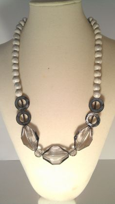 Women's fashion beaded necklace and earring set. by EFYDandC, $23.50