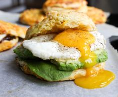 Bacon, Corn, and Cheddar Biscuits - these are perfect for making the best breakfast sandwiches!