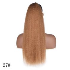 Yaki Kinky Straight Drawstring Ponytail Clip In Synthetic Hair Extensions , Ponytail Hair Piece, Puff Ponytail, Curly Hair Ponytail, Chignon Hair, Clip In Ponytail, Ponytail Hair Extensions, Synthetic Hair Extensions, Ponytail Hairstyles, Ponytail Easy