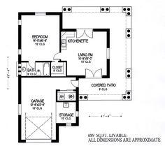 First Floor Plan of Mediterranean   House Plan 54721
