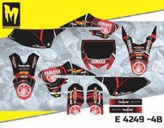 E 4249 - Yamaha YZ 65 2018 — Moto-StyleMX - Premium manufacturer of quality decals Yamaha Motocross, Custom Design, Bike, Graphics, Motorbikes, Bespoke Design, Bicycle Kick, Charts, Graphic Design