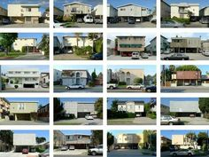 Dingbat architecture of Los Angeles