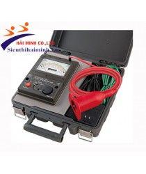Đồng hồ đo điện trở cách điện Kyoritsu 3124 Điện áp thử  :1k~10kV /1000V Giải đo :    1.6GΩ/100GΩ / 100MΩ Accuracy  : 0.05~50GΩ/1~100MΩ |±10% rdg Chỉ báo điện áp đặt : DC 0~10kV |±2%rdg±2dgt Nguồn :     Ni-Cd rechargeable battery (1.2V) × 8 Xuất xứ : Nhật Bản Bảo hành: 12 tháng https://sieuthihaiminh.vn/dong-ho-do-dien-tro-cach-dien-kyoritsu-3124.html