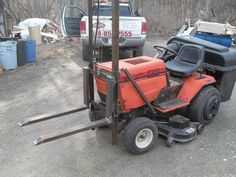 My little forklift project for my MTD - MyTractorForum.com - The Friendliest Tractor Forum and Best Place for Tractor Information