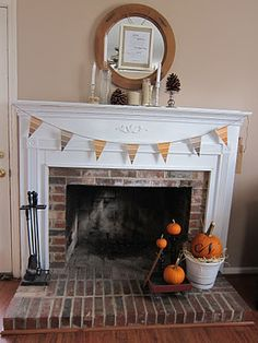 transitional Fall decorations