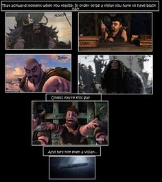 I love the picture of Dagur here - it captured him perfectly. :)