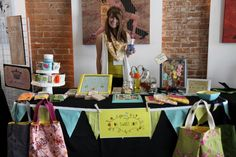 oh, sweet joy!: handmade monday: craft show booth inspiration