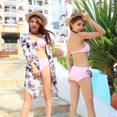 $25.23 (Buy here: https://alitems.com/g/1e8d114494ebda23ff8b16525dc3e8/?i=5&ulp=https%3A%2F%2Fwww.aliexpress.com%2Fitem%2FVintage-Bikini-three-piece-suit-printing-large-waist-female-split-triangle-shirt-swimsuit-swimsuit-Spa%2F32682143921.html ) Swim Wear 2016 New Fashionable Beachwear Womens Bikinis Push Up Woman Swimwear Plus Size Bk212 Lycra Polyester Zwemkleding for just $25.23