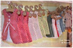 Adorables vestidos para adornar y aromatizar de Lavanda nuestros armarios.