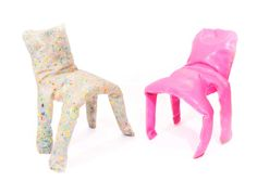 Are these forrealz? (Frumpy Chair by Jamie Wolfond)