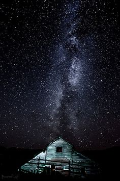 Milky Way over Oliver
