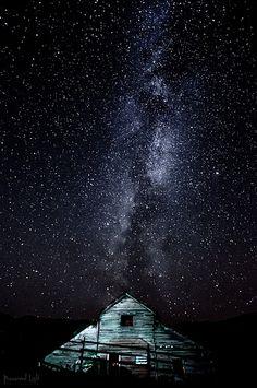Milky Way over Oliver