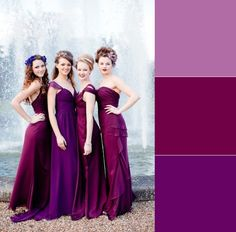 If you needed any more convincing to choose #Purple #BridesmaidDresses then you won't now! How about different shades of purple to give a beautiful matching effect to your girls? See more purple bridesmaid dresses here: http://www.outerinner.com/color-purples/bridesmaid-dresses-cg-12.html?pgp=p178