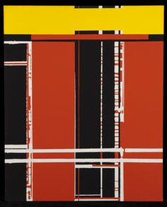 Windorf - Bloody Motel #gallery #art #abstraction #paris #pfgarcier
