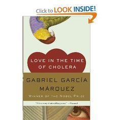 Love in the Time of Cholera (Oprah's Book Club): Gabriel Garcia Marquez: 9780307389732: Amazon.com: Books    http://www.amazon.com/Love-Time-Cholera-Oprahs-Book/dp/0307389731/ref=sr_1_1?s=books=UTF8=1369681112=1-1=love+in+the+time+of+cholera