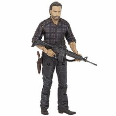 McFarlane Toys The Walking Dead TV Series 7.5 Rick Grimes Action Figure >>> Find out more details @