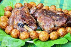 Pasca fara aluat - CAIETUL CU RETETE Pot Roast, Tandoori Chicken, Pork, Bacon, Ethnic Recipes, Cookies, Honey, Carne Asada, Kale Stir Fry