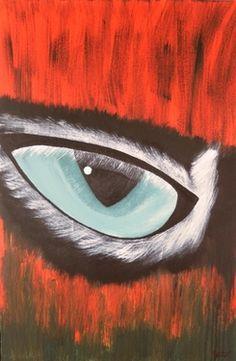 """Saatchi Art Artist Sandra Jones; Painting, """"I See"""" #art"""
