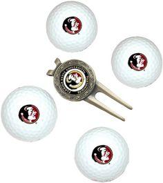 Florida State University 4-Pack Team Golf Ball Gift Set