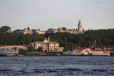 Palais de Topkapi vu du Bosphore, Istanbul (Turquie)