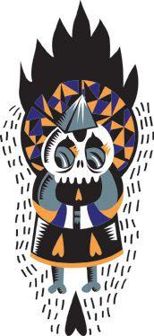 Mistic Man, vector character @Cobrinha Mariana Guerci
