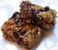 Chocolate Carmel Oatmeal Chews - a Pampered Chef recipe. These are my GO TO cookie bars! I've made these over a hundred times. They never disappoint!