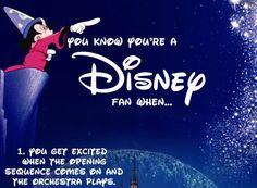 Top 30 Reasons You Know You're A Disney Fan