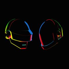 Daft Punk Tribute by Ion, via Behance...one more time