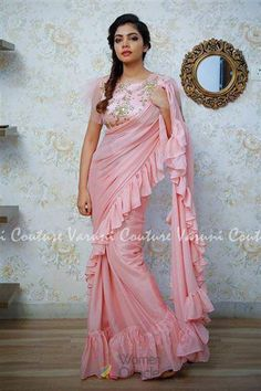 3d91e0ccac Dress to impress this wedding season in this silk western magnificent  floral motifs. #onlineboutique