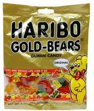 The best gummy bears! - ok I admit it, I'm a gummy bear snob. It MUST be Haribo or I won't eat it. Haribo Candy, Haribo Gummy Bears, Best Gummy Bears, Haribo Gold Bears, Gourmet Recipes, Snack Recipes, Snacks, French Candy, Pork