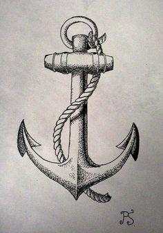 ... on Pinterest | Vintage Anchor Tattoo Anchor Art and Tattoo Anchor
