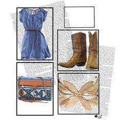 Soo cute Western dress idea!