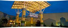 Great Lakes Crossing - the largest mall in Michigan - Auburn Hills, MI