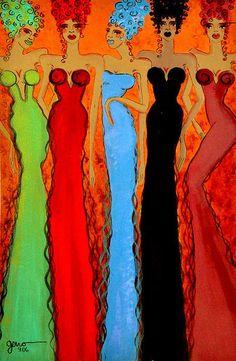 Helen Gerro American Haute Couture Colours