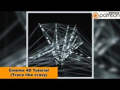 Trace like crazy (Cinema 4D - Tutorial) - YouTube