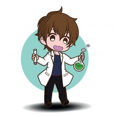 Chibi Sketch, Doodle Sketch, Aluco, Medical Clip Art, Cute Cartoon Characters, Fictional Characters, Doctor Drawing, Chibi Anime, Cute Food Drawings