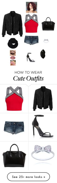 """""""K B M V D"""" by queen-kaitlyn on Polyvore featuring American Eagle Outfitters, Yves Saint Laurent, LE3NO, Givenchy, prAna, Lime Crime and STELLA McCARTNEY"""