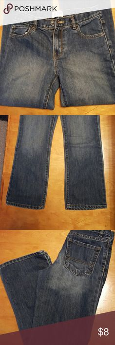 Children's Place boys jeans Adjustable waist boot cut jeans. Barely worn, like new condition. Children's Place Bottoms Jeans