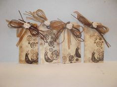 Vintage gift tags.