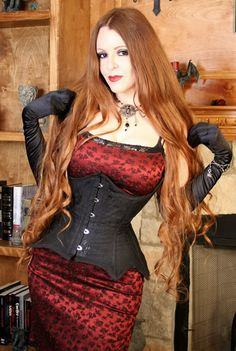 Spider Lady Underbust Corset Gothic by TracyMichelleCouture, $240.00