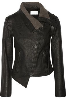 by Walter Baker Nate leather jacket Comfy Fall Outfits, Casual Outfits, Fashion Outfits, Colorful Leather Jacket, Coats For Women, Jackets For Women, Elisa Cavaletti, Fur Clothing, Discount Designer Clothes