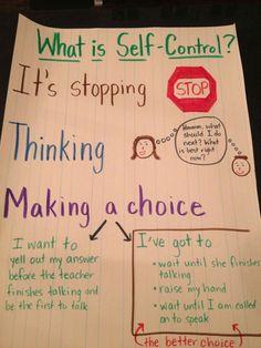 Responsive Classroom Activities - teaching kids self-control Classroom Behavior, School Classroom, Student Behavior, Behaviour Management, Classroom Management, Relation D Aide, Counseling Activities, Classroom Activities, Classroom Ideas