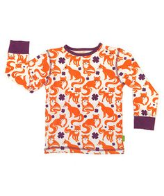 Plastisock is on zulily today. I love the fox shirt!
