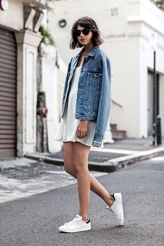 A Blogger's Casual Cool Take On The Slip Dress