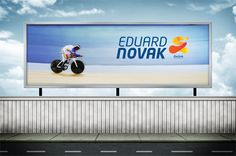Road to RIO 2016 - Campaign branding for EDUARD NOVAK, Paralympic Champion.
