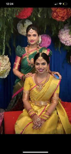 Bridal Sarees South Indian, Indian Bridal Fashion, South Indian Bride, Gown Dress Party Wear, Fancy Sarees Party Wear, Half Saree Designs, Bridal Blouse Designs, Lehenga Saree Design, Saree Models
