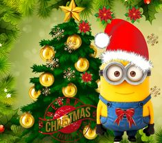 Fun Office Christmas Activities – Get Ready for Christmas Christmas Scenes, Christmas Quotes, Christmas Art, Christmas Stuff, Evil Minions, Minions Love, Minion Stuff, Purple Minions, Despicable Me Memes