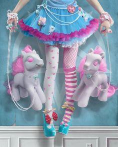 My Little Pony Project 2012 - Kawaii cuteness and Harajuku Fashion, Kawaii Fashion, Lolita Fashion, Harajuku Style, Pastel Fashion, Fashion Fashion, Kei Visual, Girly, Kawaii Art